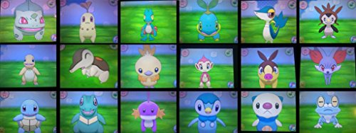 Pokemon ORAS XY All Shiny Starters