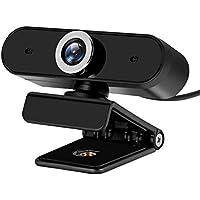 720P HD Webcam, Enow Digital Video Live Streaming Web Camera, Built-in Dual Microphone USB Computer Camera, PC Mac…