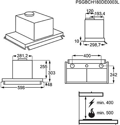 EFP126X: Amazon.es: Grandes electrodomésticos
