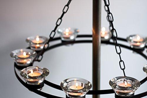 Bell tent chandelier in black cream or magenta amazon lighting bell tent chandelier in black cream or magenta aloadofball Gallery
