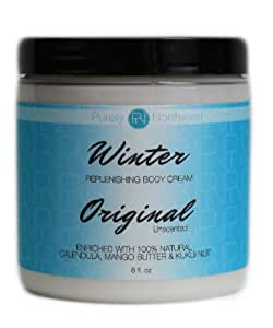 Purely Northwest Dry Winter Skin Cream , Extra Relief for Severe Dry Winter Skin , 8 Ounce