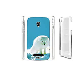 FUNDA CARCASA ANIMALE WHITE PARA ALCATEL ONETOUCH POP S9