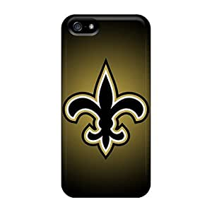 For Iphone 5/5s Premium Tpu Case Cover New Orleans Saints Protective Case