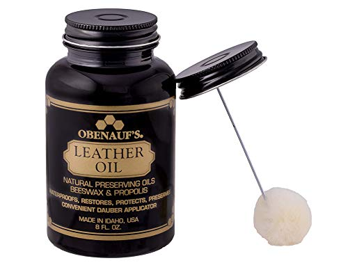 Obenauf's Leather Oil Condition Restore Dry Leather (8oz with Applicator)