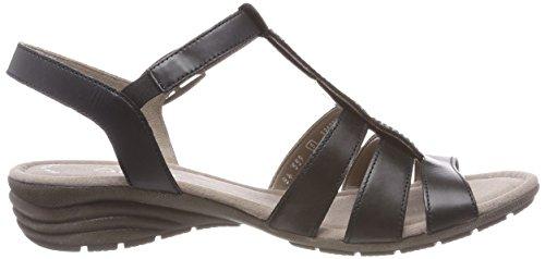 sandalias De Cuña Verano cómodo plana Fitting Mujer schwarz 550 übergrößen 24 Negro Cuña sandalias Gabor sandalias zapatos best Del xqHWRAwHn