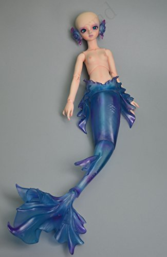 Ball Jointed Body - Zgmd 1/4 BJD Doll Ball Jointed Doll Mermaid Body With Long Tail Face Make Up