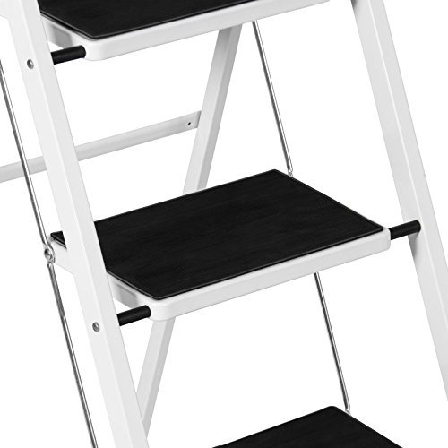 4 Step Ladder Steel Stool 300lb Heavy Duty Lightweight Portable Folding by Unknown (Image #5)
