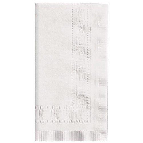 Hoffmaster Linen-Like Paper Dinner Napkin White, 17