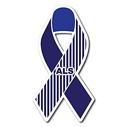 Amazon com : Als Awareness Ribbon Magnet - Set of 2 - : Everything Else