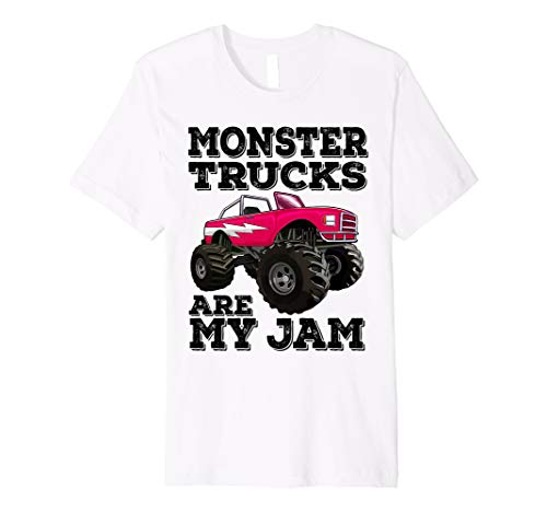 Monster Trucks Are My Jam Racing Truck Premium T-Shirt