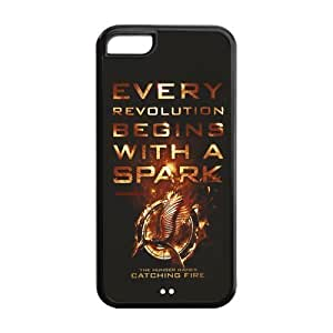 Customize Hunger Games Apple Case Suitable for iphone5C JN5C-1443