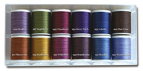 Superior Threads King Tut #40/3-Ply Quilting Thread 500 yds 12-Spool Set Betty Cotton Tone-on-Tone BETTYCOTTON by Superior Threads