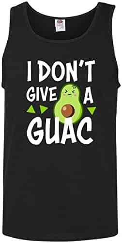 9d243c33 inktastic - I Dont Give a Guac with Avocado Illustration Men's Tank Top