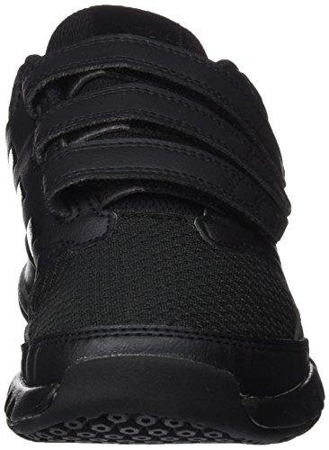 adidas FORTAGYM CF K, Zapatillas de Deporte Interior Unisex Niños Varios colores (Negbas / Negbas / Grpudg)