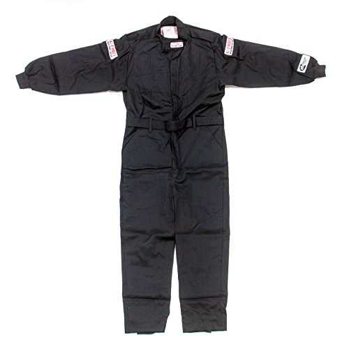 G-Force Unisex-Child One-Piece Suit(Black,Medium)