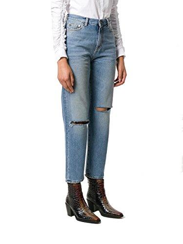 Femme Claire Bleu Jeans Laurent Saint Coton 500389Y868M4061 zAqfnxT