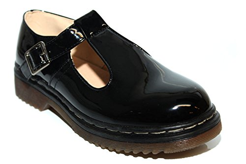 Bloggers Polley F10929Ap - Chaussures basses - style vintage - noir