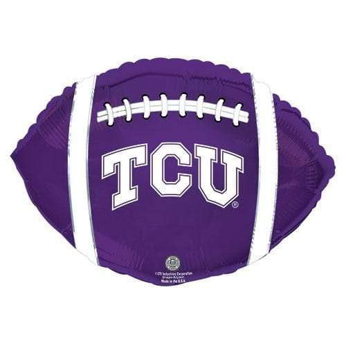 CTI Balloons Foil Balloon 315134HV Texas Christian University Tcu Horned Frogs Footba, 21