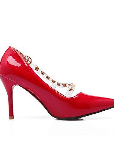 Tal ¨ n ® amp; scarpe donne Stiletto Ocasional di ® del di 40 Punta EU del Delle Ufficio Scarpe TAC verano dito n del ¨ vernice piede ZQ Carrera gBqUwB