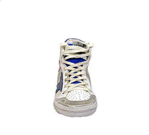 Golden Goose Hi Top Sneakers Donna G30WS599H1 Pelle Bianco