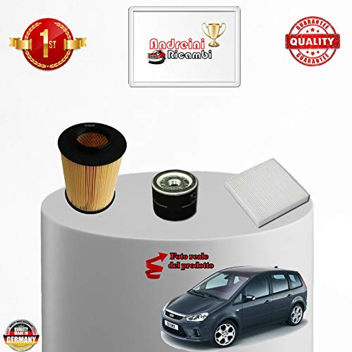 Service kit 3 filters C-MAX 2.0 BI-FUEL 107KW 145CV from 2007 -> 2010: