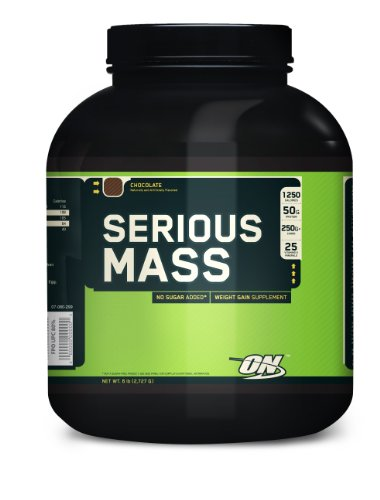 Serious Mass, Chocolate, 6.0 lb