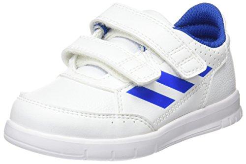 adidas Unisex Baby AltaSport CF I Gymnastikschuhe, Blau, EU Elfenbein (Ftwr White/blue/ftwr White)