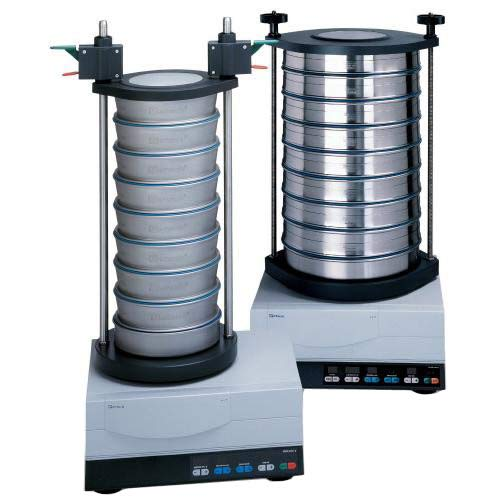 Retsch 60.159.000999 Standard Sieve Stack Set for Series AS 300 Vibratory Sieve Shaker, 305mm Diameter x 40mm Height