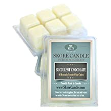 Succulent Chocolate NEW 2 - Pack NEW Scented Soy Melts from Skore Candle. 12 Cubes made with pure, natural soy wax. Wax warmer required. Infuse fragrance in your home now!