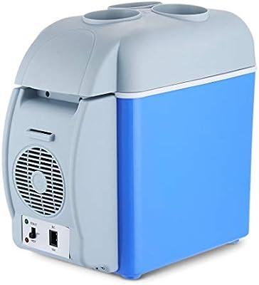 Amazon.es: QIHANGCHEPIN Portátil Mini 7.5L Refrigerador de ...