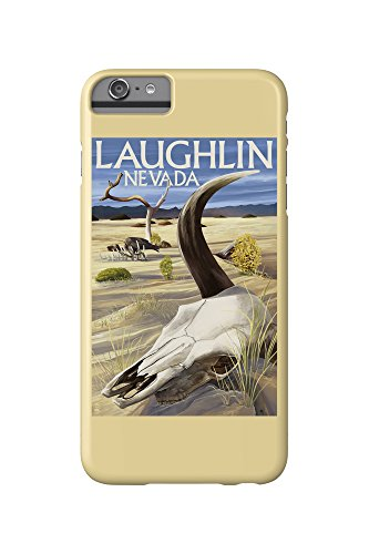 Cow Skull - Laughlin, Nevada (iPhone 6 Plus Cell Phone Case, Slim Barely - Laughlin Nevada Images Of