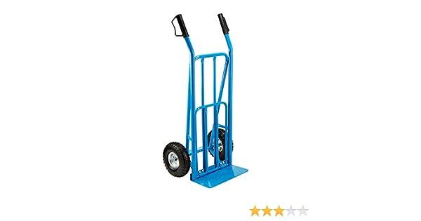 Mac Allister - Carro de plataforma con pala (máx. Carro de carretilla de 250 kg de peso, resistente, industrial: Amazon.es: Industria, empresas y ciencia
