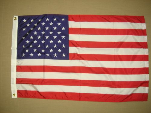 American Flag With Printed Stars and Stripes 20 in. x 30 in. For Sale
