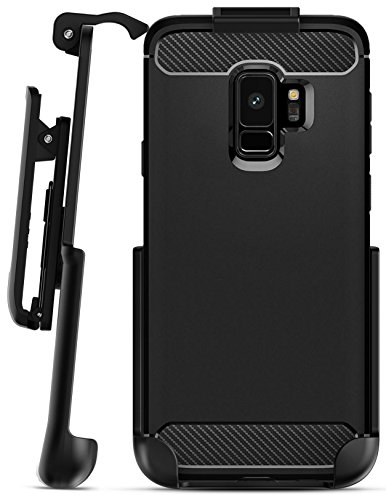 Encased Belt Clip Holster for Spigen Rugged Armor Case – Galaxy S9 (case not included)