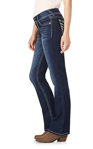 WallFlower Women's Juniors Luscious Curvy Embellished Bootcut Jeans in Kyle, 9 by WallFlower (Image #3)