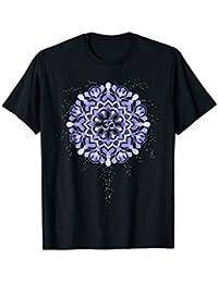 Purple Mandala Om T-Shirt for Yoga + Meditation