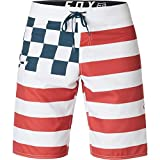 Fox Men's Patriot Boardshort, Rio Red, 34