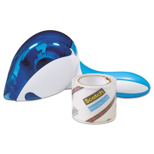 "Easy Grip Tape Dispenser, 1 Dispenser & 1 Roll at 1.88"""" x 600"""", Sold as 1 Each"