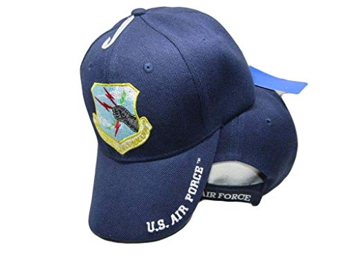 (US Air Force Strategic Air Command Blue USAF Embroidered Ball Cap CAP541)