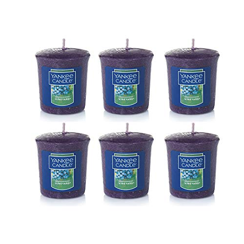 (Yankee Candle Lot of 6 Vineyard Votive Candles )