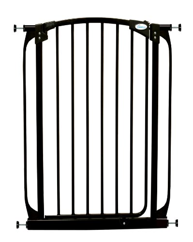 Dreambaby Chelsea Extra Tall Auto Close Security Gate in Black
