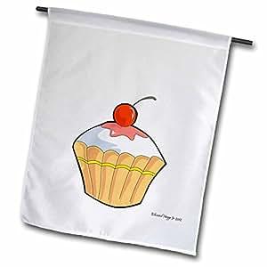 Edmond Hogge Jr Cartoons - My Little Cupcake - 12 x 18 inch Garden Flag (fl_56843_1)