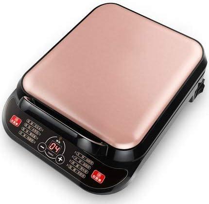 DSJJ Plaque de cuisson électrique, machine à gâteau gaufre, chauffage à double face, mise hors tension automatique, plaque de cuisson carré, l'intelligence des ménages