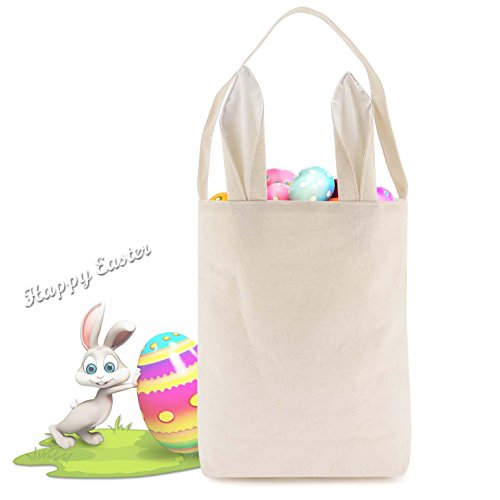 Easter Basket For Kids Easter Bags with Bunny Ears Design fo