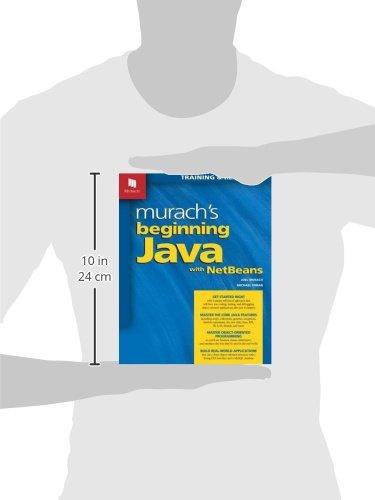 murach s beginning java with netbeans joel murach michael urban rh amazon com Murach Visual Basic 2012 Mike Murach Books