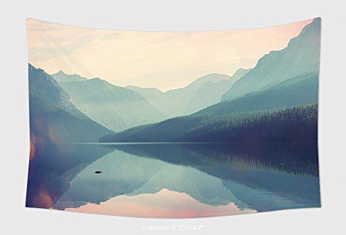 Home Decor Tapestry Wall Hanging Glacier National Park Montana Usa Instagram Filter 376532611 for Bedroom Living Room Dorm