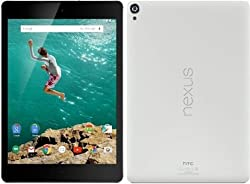 Google Nexus 9 Tablet 8.9-Inch, 32GB, WHITE, Wi-Fi (Certified Refurbished)