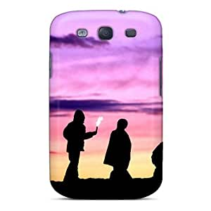 Galaxy Case - Tpu Case Protective For Galaxy S3- Chilling At Beach