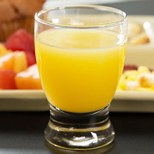 5 Ounce Juice Glass (SET of 6, Libbey 12266 Atrium 5 oz Juice Glass w/ Signature Party Picks)