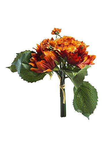 Realistic Silk Bouquet Sunflowers Floral Decors Bridal Holding Flowers , (Realistic Flowers)